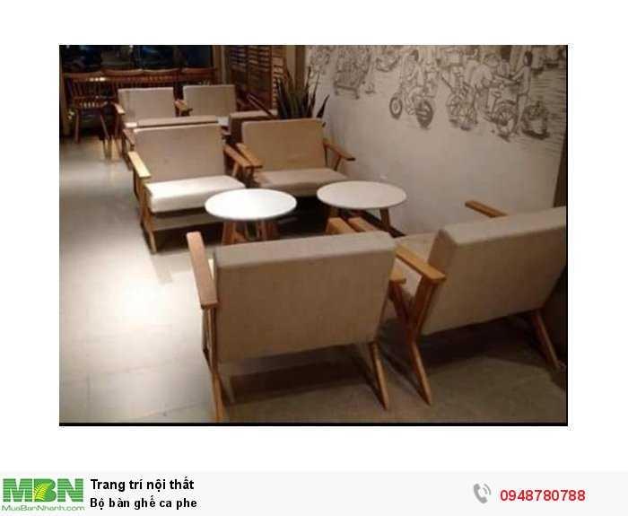Bộ bàn ghế cà phê1