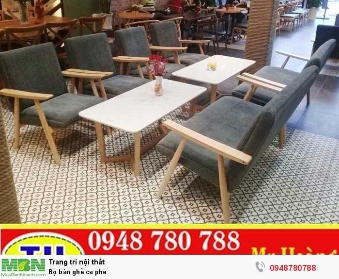 Bộ bàn ghế cà phê2