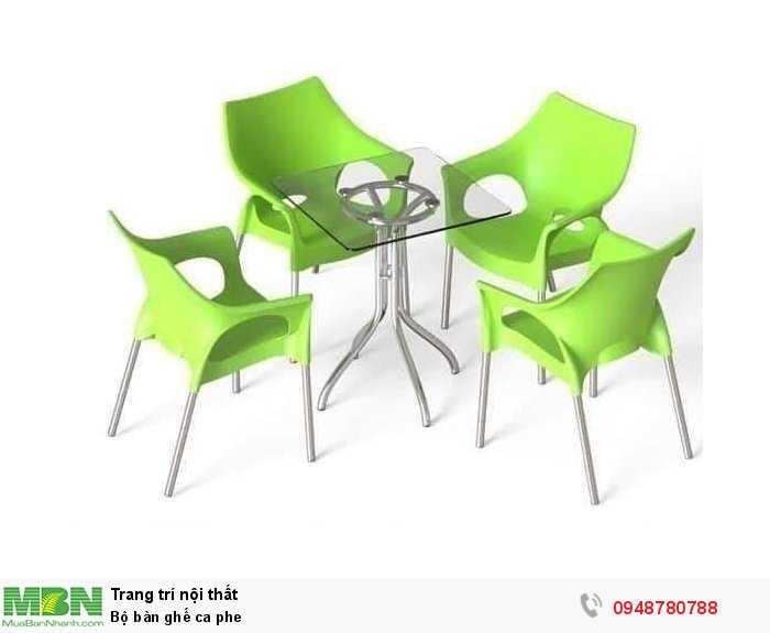 Bộ bàn ghế cà phê4
