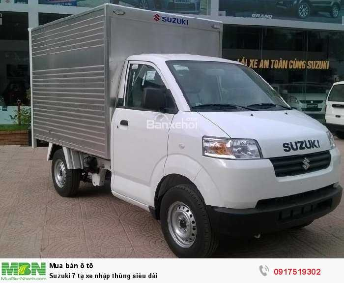 Suzuki 7 tạ xe nhập thùng siêu dài