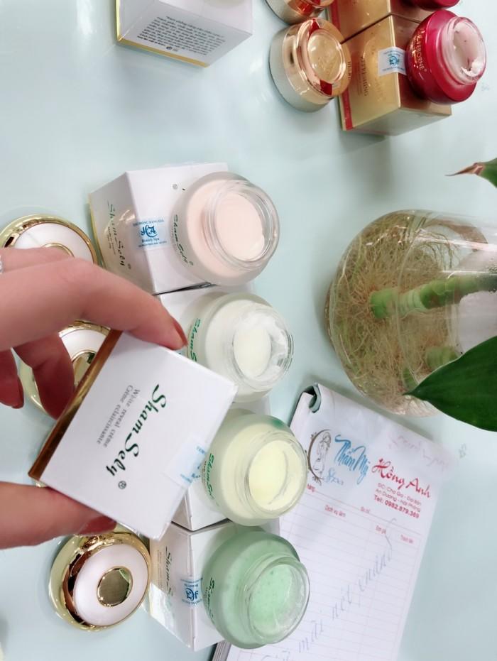 Bộ mỹ  phẩm làm đẹp dưỡng da mặt Kem Pháp LANCOMAI SỈ kem trị nám ban đem, kem trị nám ban ngày9