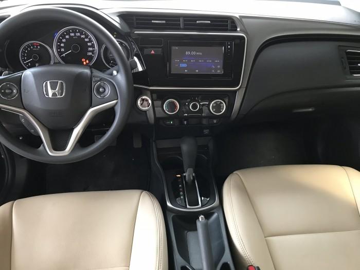 Bán Honda City 1.5CVT màu xanh rêu số tự động sản xuất 2018 lăn bánh 7000km