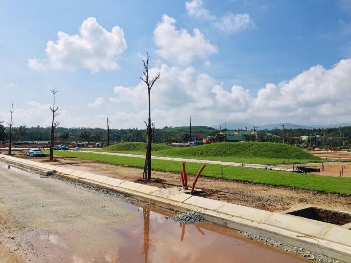 Đất nền mặt tiền QL 1A, trung tâm thị trấn Mộ Đức  sở hữu ngay