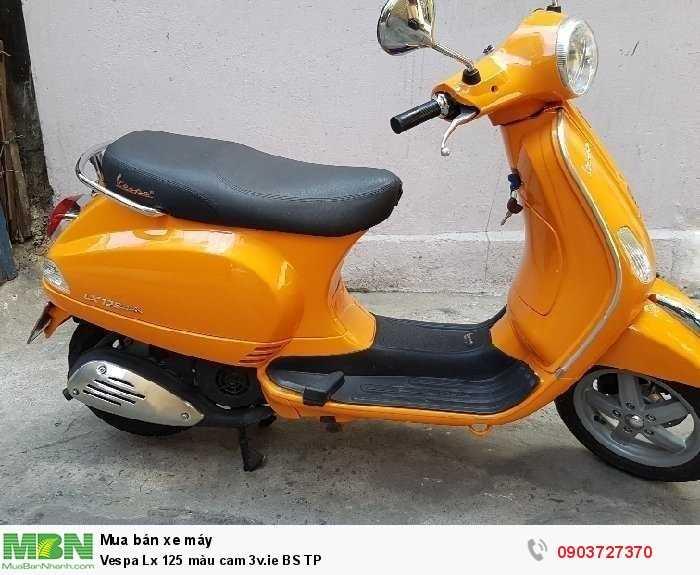 Vespa Lx 125 màu cam 3v.ie BS TP