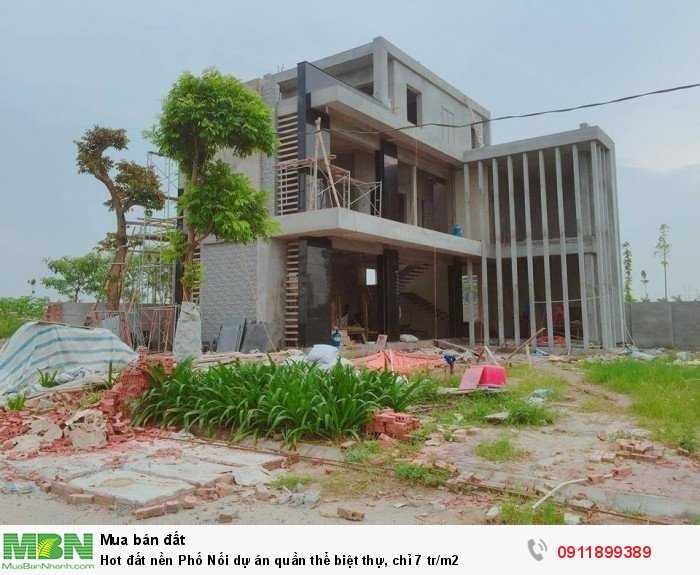 Hot đất nền Phố Nối dự án quần thể biệt thự