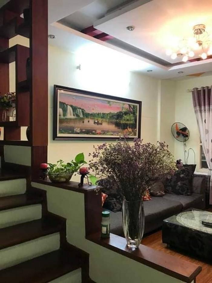 Gia đình tôi cần bán nhà tại Cầu Giấy, quận Cầu Giấy, ngõ rất rộng, DT 38m2 xây 5 tầng.