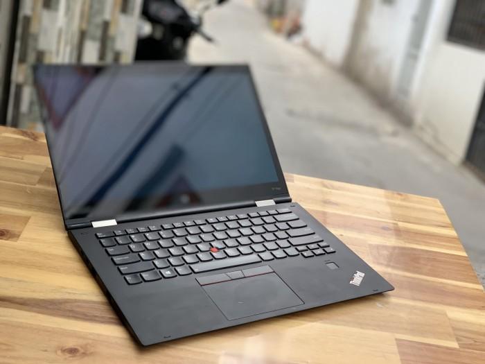 Laptop Lenovo Thinkpad X1 Yoga Gen 2, Core i7 7500U Ram 8G SSD512 OLED QHD Touch xoay 360 độ0