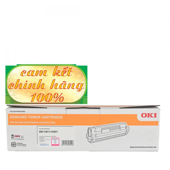 HỘP MỰC IN CHÍNH HÃNG OKI C831 MAGENTA1