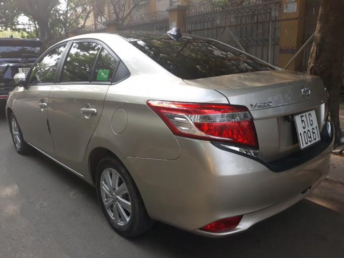 Bán Toyota Vios 1.5E MT sản xuất 2017, giá cả TL , có hỗ trợ trả góp 4