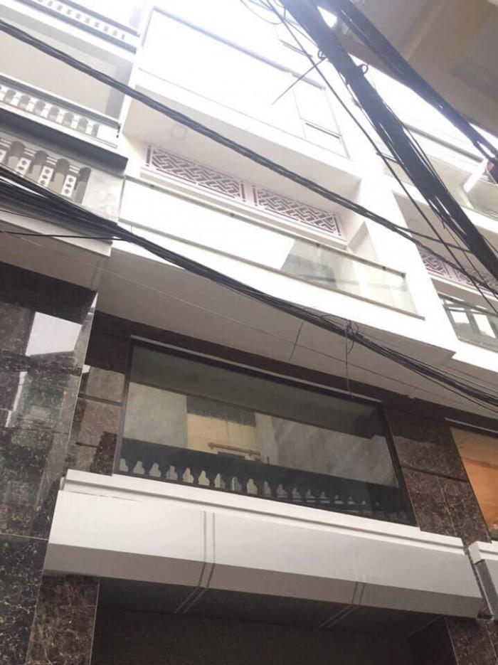 Bán nhà Phố Yên Hòa mới cực đẹp, ở ngay, 40m2 x 6Tầng nhỉnh