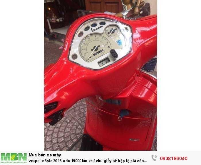 Vespa lx 3vie 2013 odo 19000km xe 9chu giấy tờ hộp lệ  giá còn thuoeng lượng