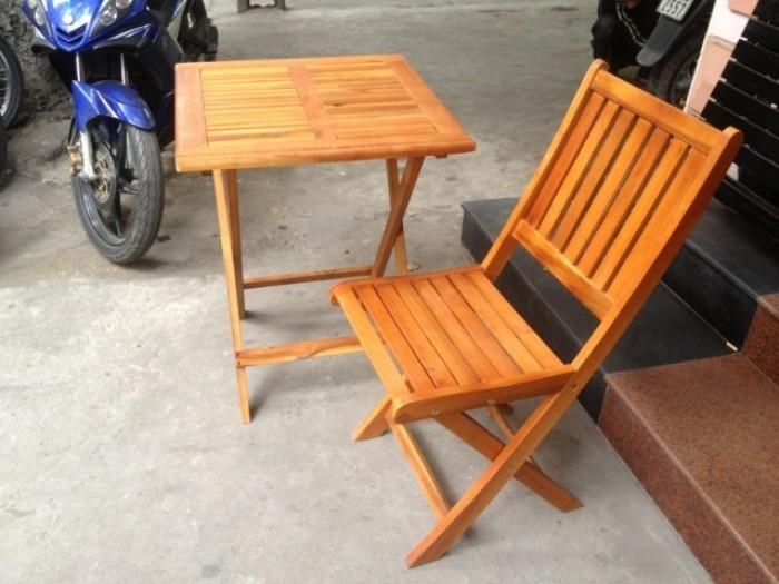Bàn ghế GỔ cafe mây nhựa giá rẻ tại xưởng sản xuất HGH 582