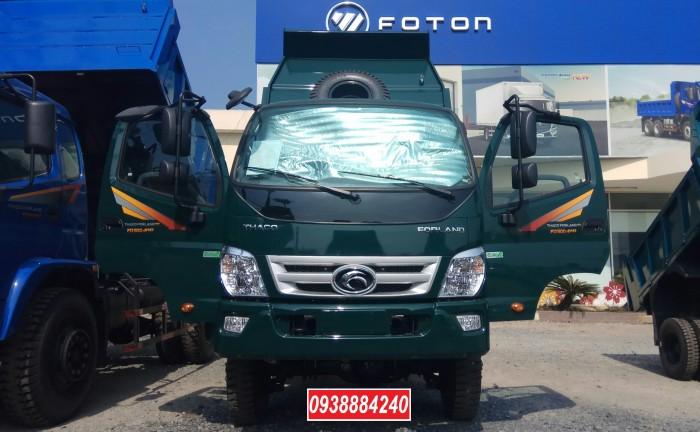 Bán trả góp xe ben THACO FORLAND FD500.E4 5 tấn thùng 4 khối trả trước 20% Long An Tiền Giang Bến Tre 21