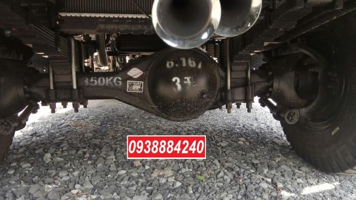 Bán trả góp xe ben THACO FORLAND FD500.E4 5 tấn thùng 4 khối trả trước 20% Long An Tiền Giang Bến Tre 20