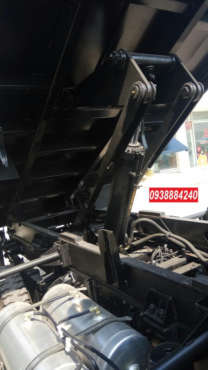 Bán trả góp xe ben THACO FORLAND FD500.E4 5 tấn thùng 4 khối trả trước 20% Long An Tiền Giang Bến Tre 16