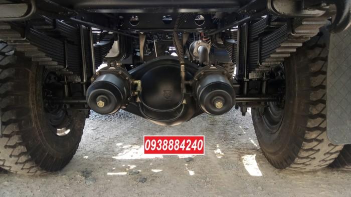 Bán trả góp xe ben THACO FORLAND FD500.E4 5 tấn thùng 4 khối trả trước 20% Long An Tiền Giang Bến Tre 12