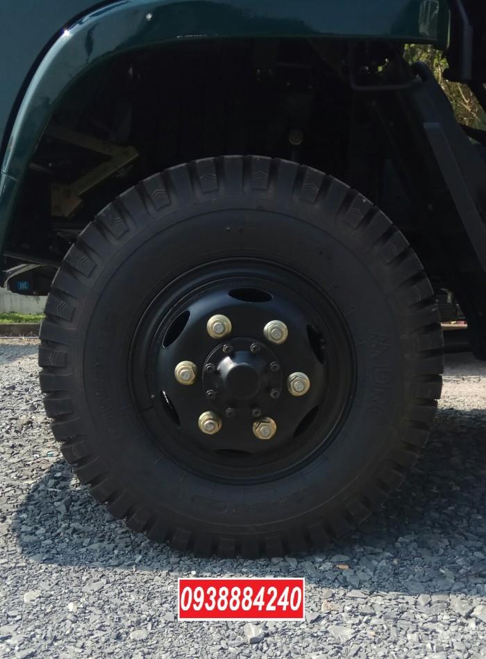 Bán trả góp xe ben THACO FORLAND FD500.E4 5 tấn thùng 4 khối trả trước 20% Long An Tiền Giang Bến Tre 11