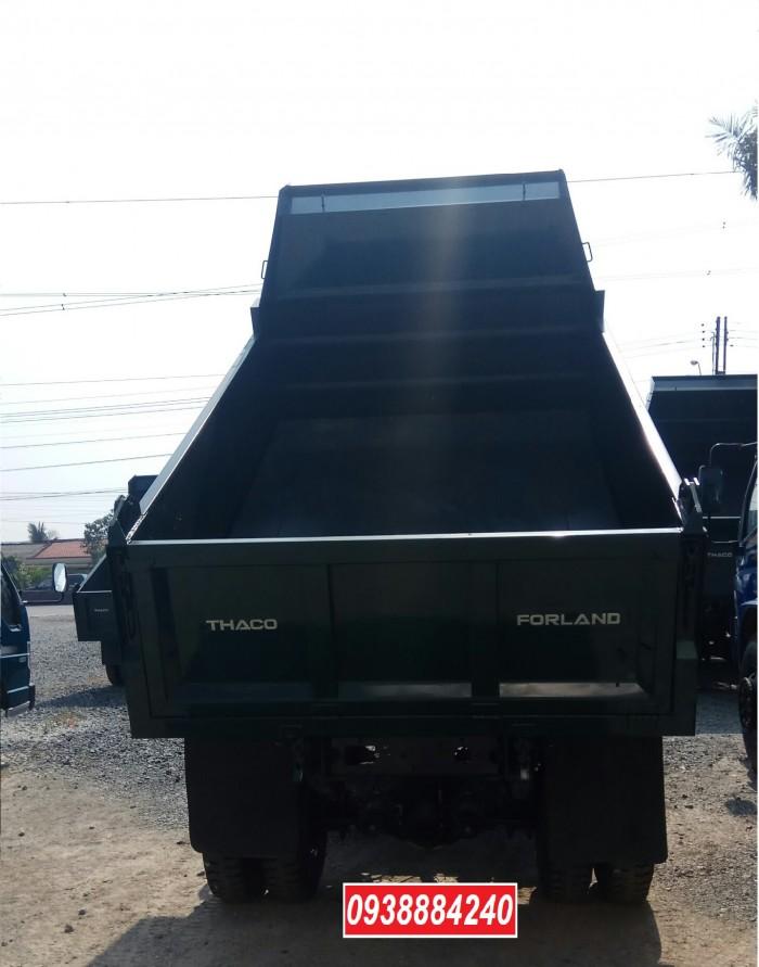 Bán trả góp xe ben THACO FORLAND FD500.E4 5 tấn thùng 4 khối trả trước 20% Long An Tiền Giang Bến Tre 5