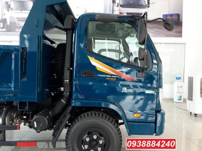Bán trả góp xe ben THACO FORLAND FD500.E4 5 tấn thùng 4 khối trả trước 20% Long An Tiền Giang Bến Tre 4