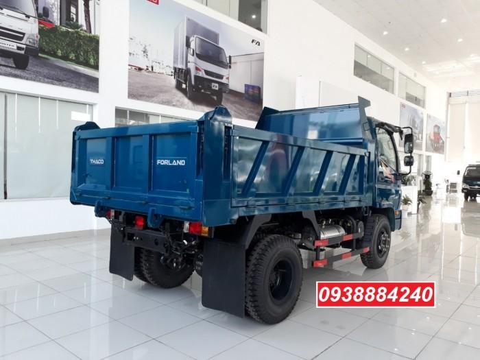 Bán trả góp xe ben THACO FORLAND FD500.E4 5 tấn thùng 4 khối trả trước 20% Long An Tiền Giang Bến Tre 3
