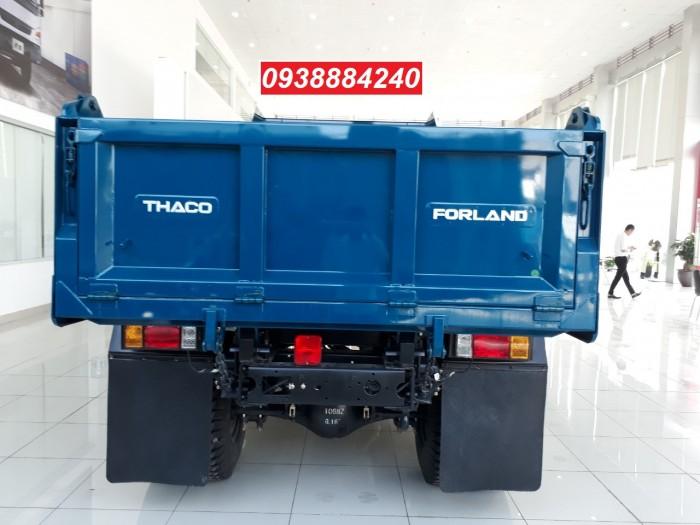 Bán trả góp xe ben THACO FORLAND FD500.E4 5 tấn thùng 4 khối trả trước 20% Long An Tiền Giang Bến Tre 2