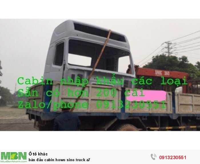 Bán Đầu Cabin Howo Sino Truck A7