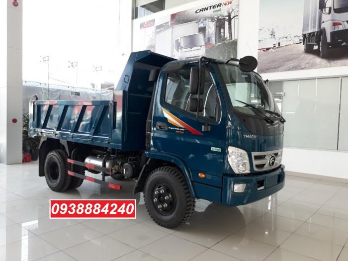 Bán xe ben THACO FORLAND FD500-4WD.E4 2 cầu 4.99 tấn thùng 4.1 khối Vay 80% 17