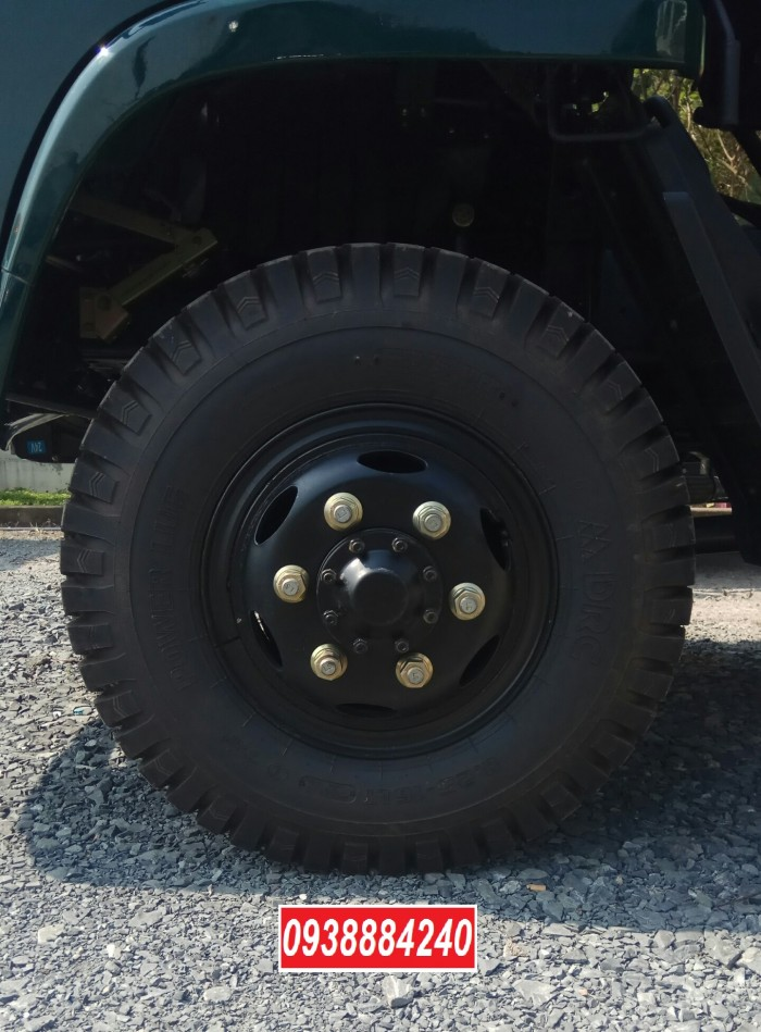 Bán xe ben THACO FORLAND FD500-4WD.E4 2 cầu 4.99 tấn thùng 4.1 khối Vay 80% 13