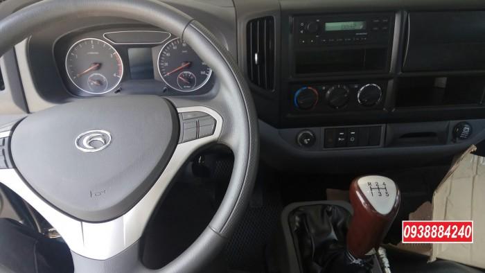 Bán xe ben THACO FORLAND FD500-4WD.E4 2 cầu 4.99 tấn thùng 4.1 khối Vay 80% 12