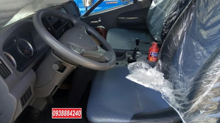 Bán xe ben THACO FORLAND FD500-4WD.E4 2 cầu 4.99 tấn thùng 4.1 khối Vay 80% 8
