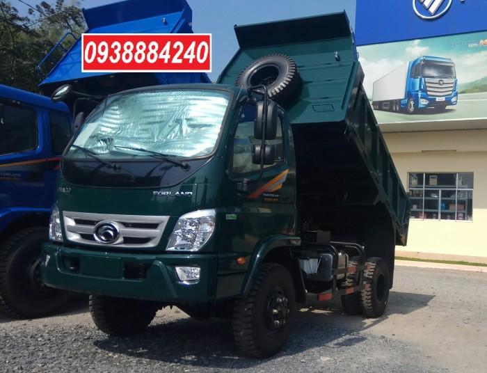 Bán xe ben THACO FORLAND FD500-4WD.E4 2 cầu 4.99 tấn thùng 4.1 khối Vay 80%