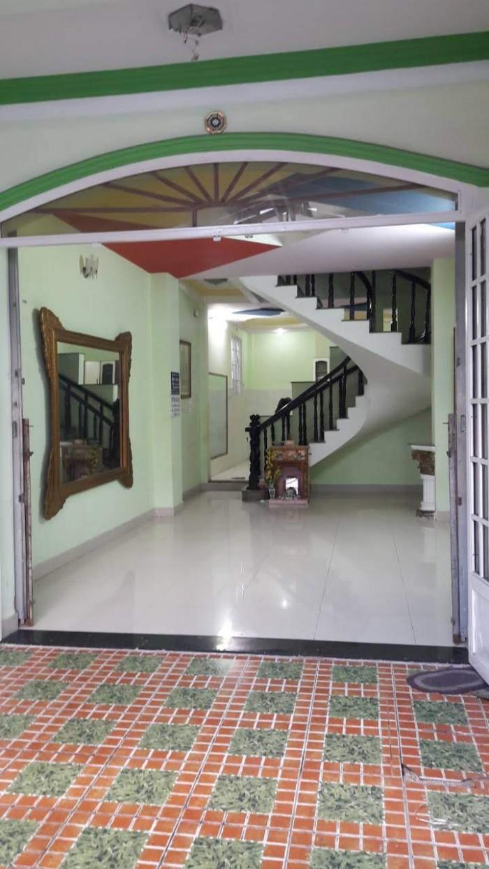 Bán nhà mặt tiền đường số 9, 72m (4x18), 4 tầng, gần bệnh viên Gò Vấp, phường 16