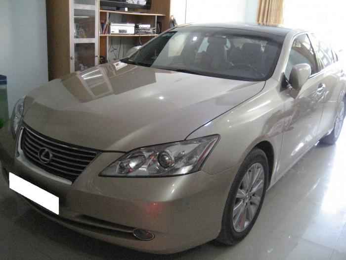 Gia đình cần bán Es350, sản xuất 2009, xe nhập nhật, màu vàng cát,