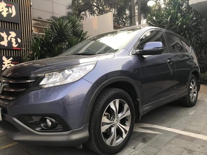 Em bán Honda CRV 2015 số tự động màu xám, máy 2.4lít