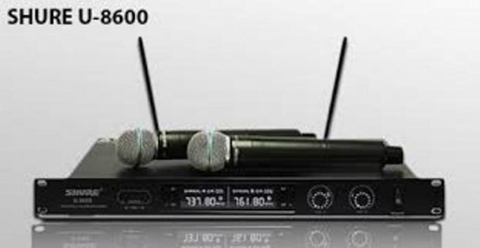 Micro không dây Shure U8600 thu phát tín hiệu micro xa trên 60m6