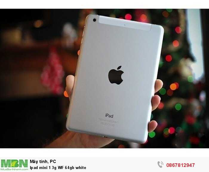 Ipad mini 1 3g WF 64gb white0