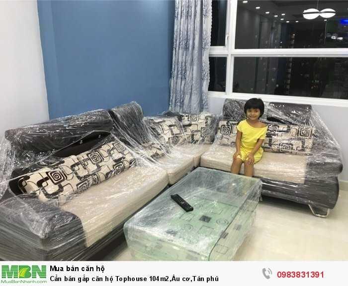 Cần bán gấp căn hộ Tophouse 104m2,Âu cơ,Tân phú