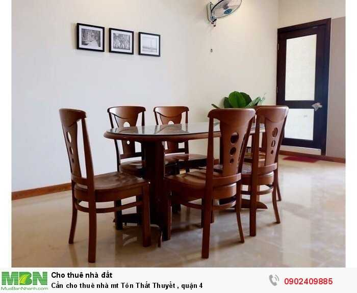 Cần cho thuê nhà mt Tôn Thất Thuyết , quận 4
