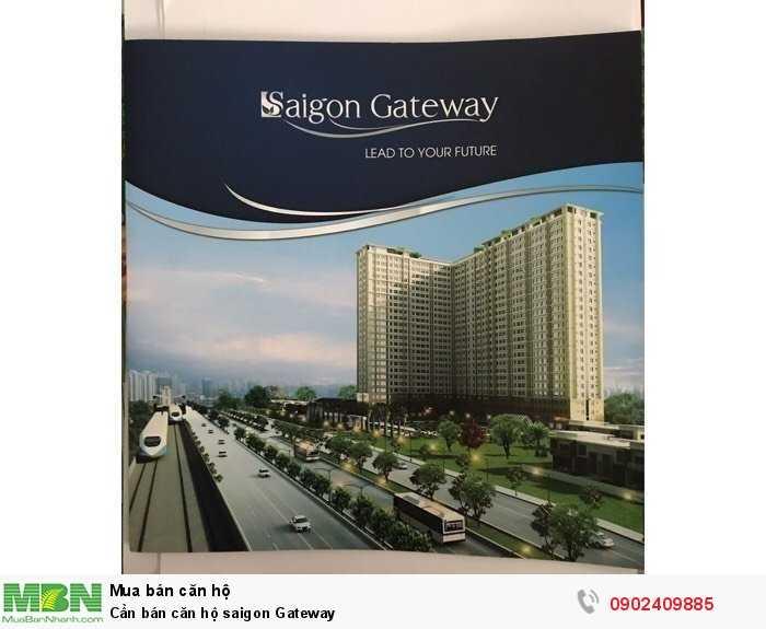 Cần bán căn hộ saigon Gateway
