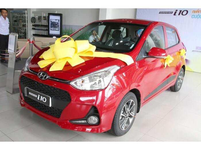 Hyundai I 10 1.2 AT màu đỏ