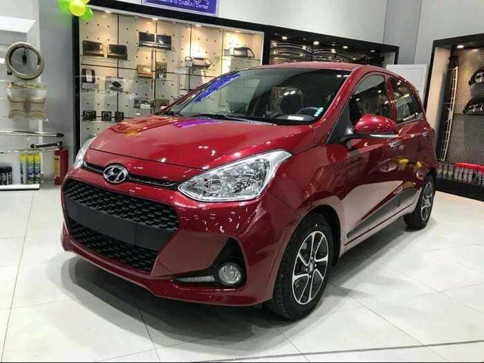 Hyundai I 10 1.2 AT màu đỏ 1
