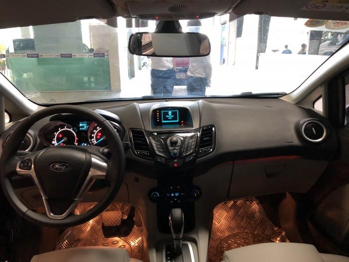 Ford Fiesta Titanium AT 2017, màu nâu, xe đẹp như mới
