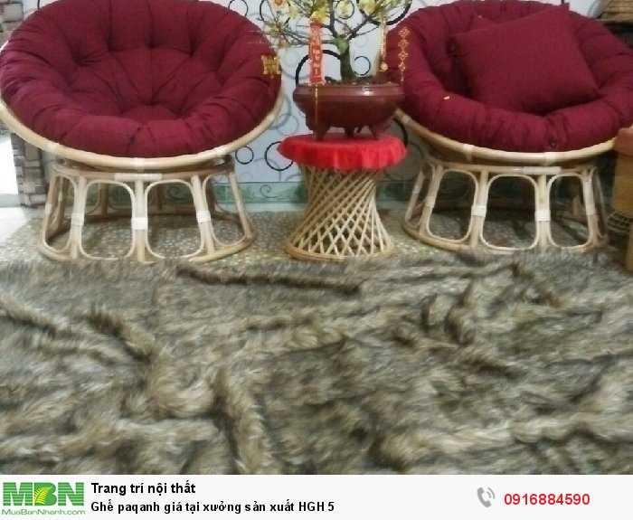 Ghế paqanh giá tại xưởng sản xuất HGH 5