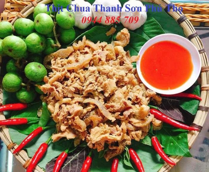 Đặc sản thịt chua Thanh Sơn Phú Thọ