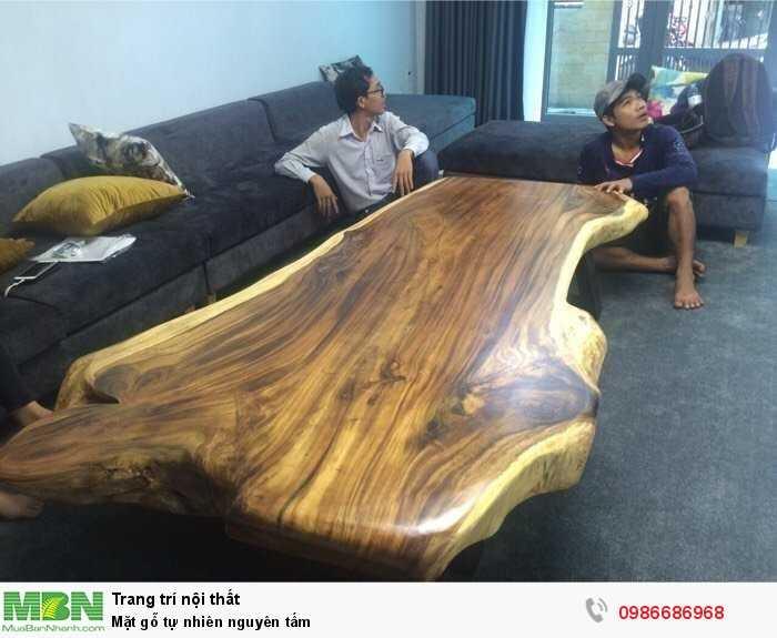 Mặt gỗ tự nhiên nguyên tấm