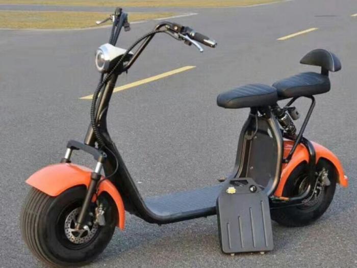 Xe điện bánh to Harley Pin tháo dời