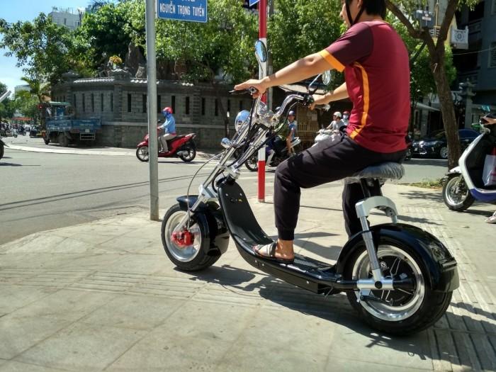 Xe điện Harley Chopper bánh to 2019