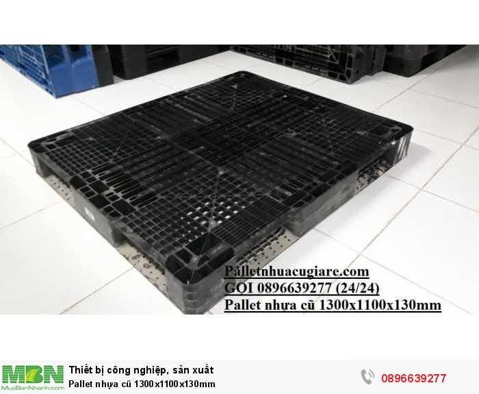 Bán pallet nhựa cũ 1300x1100x130mm - Gọi 0896639277 (24/24)1