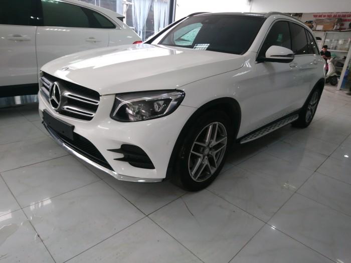 Mercedes GLC300 4Matic 2016 màu trắng