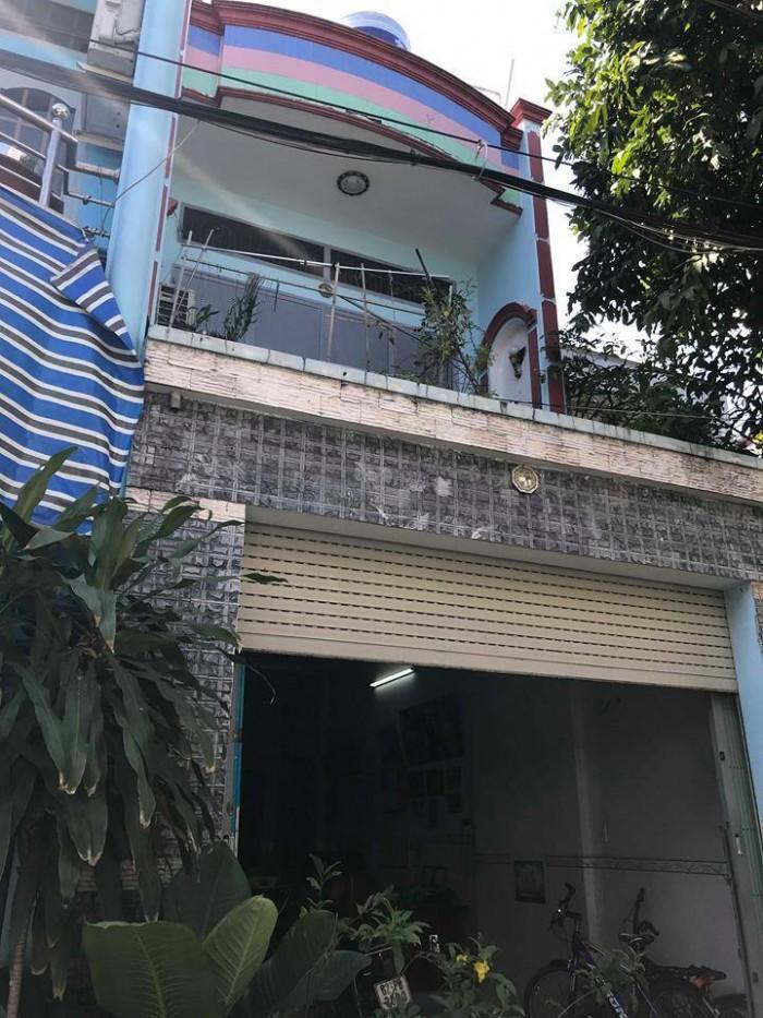Bán nhà 4x17m, 1 lầu, hẻm 5m, Bình Long, P. Phú Thạnh. Q. Tân Phú